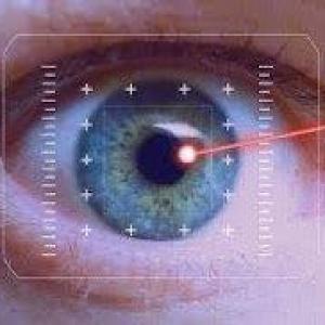 Cirurgia a laser refrativa